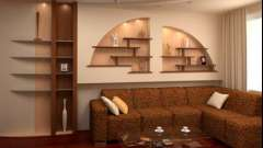 Дизайн стін: робимо гіпсокартонні ніші