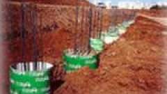 Фундамент для грунтів з високим рівнем грунтових вод