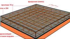 Виготовлення монолітної фундаментної плити