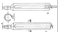 Як виготовити бур ложку своїми руками?