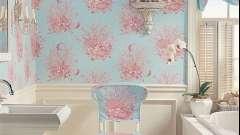Як правильно підібрати шпалери для ванної кімнати