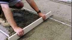 Як зробити бетонну стяжку: технологія процесу