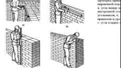 Як виконується зведення цегляних стін