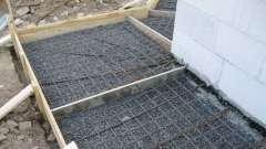 Як залізних бетонну підлогу