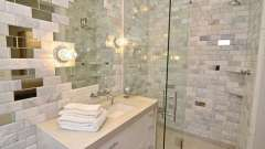 Яким матеріалом можна обробити ванну кімнату?