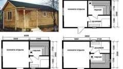 Матеріали для обробки лазні і сауни - породи деревини в різних приміщеннях