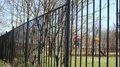Металеві паркани, виконані своїми руками