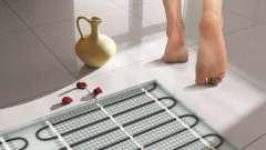 Чи можна встановити в лазні тепла підлога?