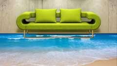 Наливні полімерні підлоги в квартирі - чудеса нових технологій