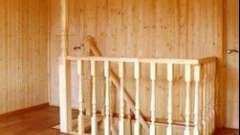 Обшивка стін вагонкою створює приємний мікроклімат