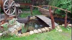 Оформлення дачної ділянки в сільському стилі