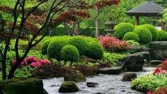 Оформлення саду в японському стилі