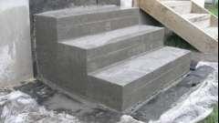 Особливості ремонту бетонних ступенів