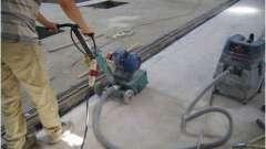 Технологія фрезерування бетону