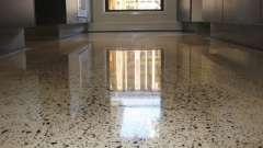 Полірування бетонної підлоги своїми руками