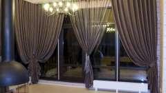 Популярні варіанти штор для залу