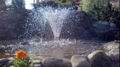 Споруда фонтану для дачі своїми руками