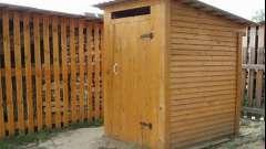 Правила побудови дачного туалету