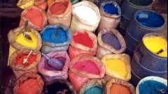 Приготування барвників для бетону своїми руками