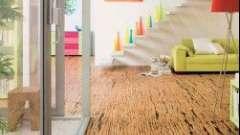Пробкова підлога або подвійний шар лінолеуму: що краще?