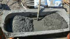Пропорції цементного розчину для стяжки