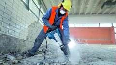 Різні способи демонтажу бетону