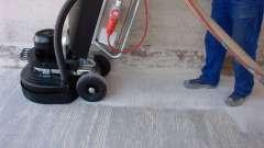 Рекомендації по шліфовці стяжки підлоги