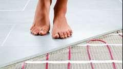 Укладання теплих електричних підлог