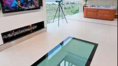 Скляна підлога - збагачуємо інтер'єр