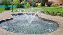 Будівництво фонтану на дачній ділянці своїми руками