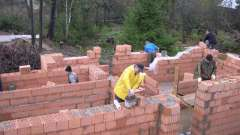 Будівництво цегляних стін для гаража: витрата матеріалу