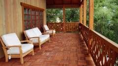 Тераса заміського будинку: поради по дизайну