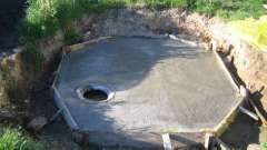 Пристрій вигрібної ями в приватному будинку