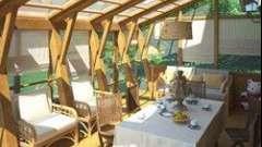 Веранди і тераси - літні приміщення для відпочинку