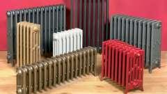 Вибір радіаторів опалення